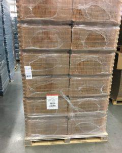 Pallet verpakkingen voor eieren